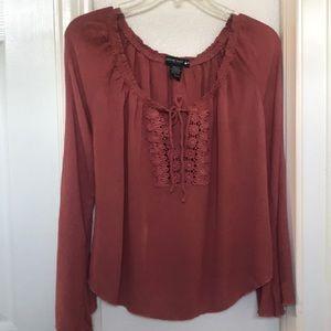 3/4 dolman sleeve blouse